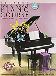 Alfred Adult Piano Course Lesson Bk 1/CD --- Piano - Palmer, Manus & Lethco --- Alfred Publishing
