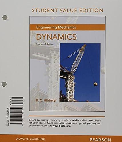 Pearson education solution manual dynamics array amazon com engineering mechanics dynamics student value edition rh amazon com fandeluxe Image collections