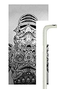 Samsung Galaxy S5 Storm Trooper Art PC Custom Samsung Galaxy S5 Case Cover White