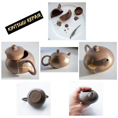 Kintsugi Repair Kit - Japanese Urushi Lacquer From Japan, Kintsukuroi by Mejiro Co. (Image #2)