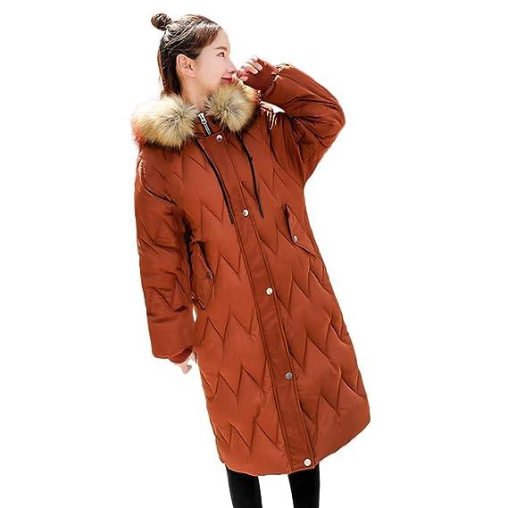 brand new df669 93923 Vovotrade Damen Warm Winterjacke Parka Jacke Mantel Lange ...