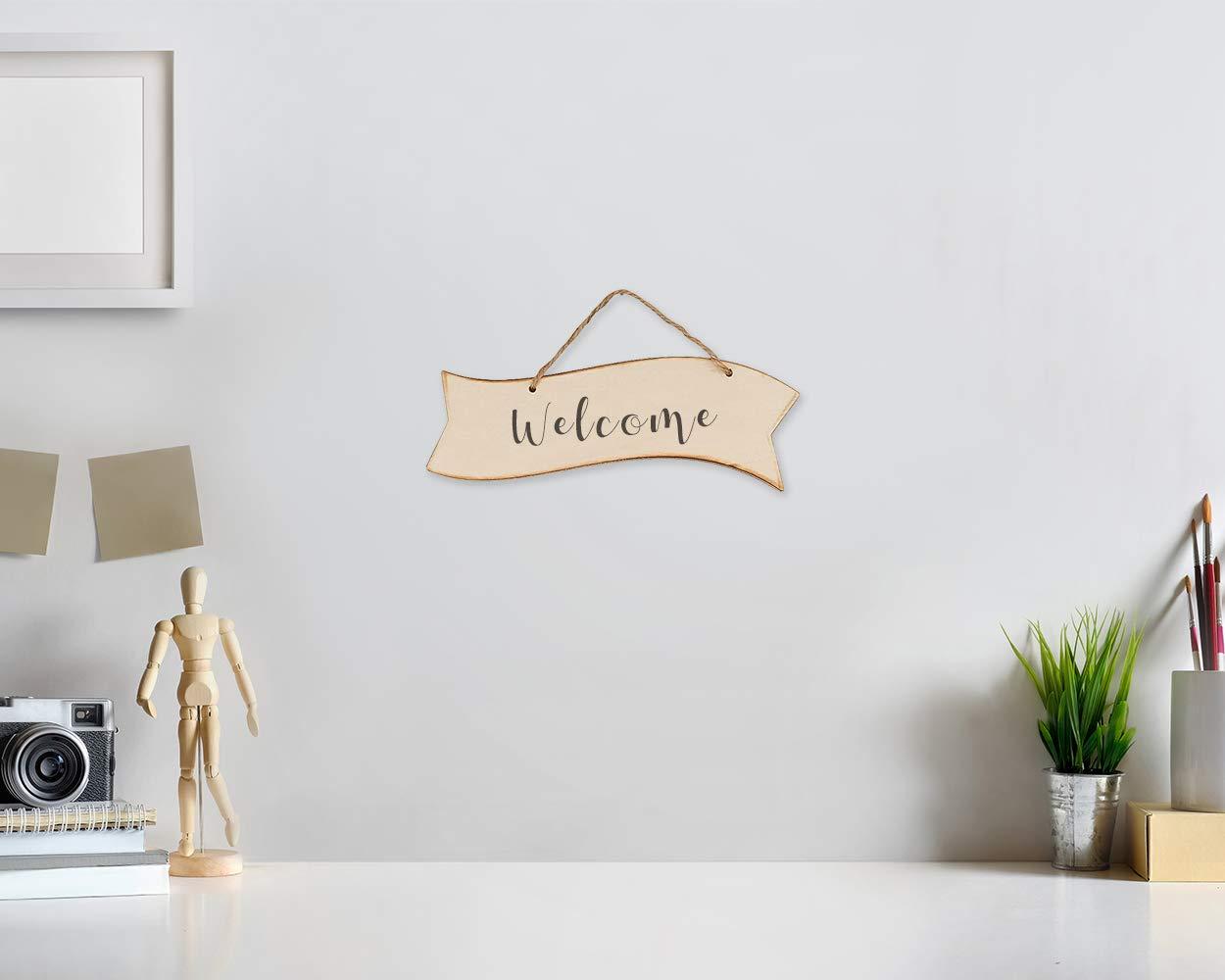 Amazon.com: Letreros de madera sin terminar – Placas de ...