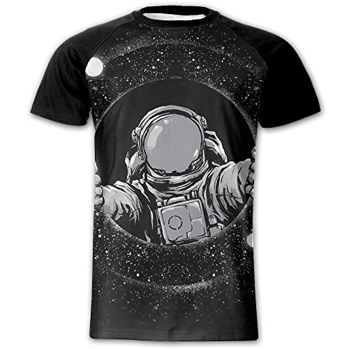 YRNGJFIFJEOL JFJ Black Hole Men's Short Sleeves Baseball Graphic Tees Tops Outdoor Tshirts Blouses by YRNGJFIFJEOL JFJ