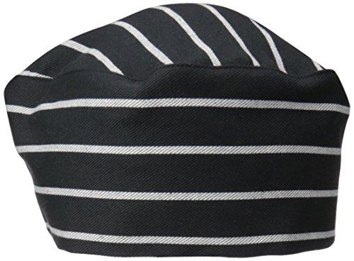 Uncommon Threads Unisex  Cotton Twill Beanie, Chalk Stripe, One