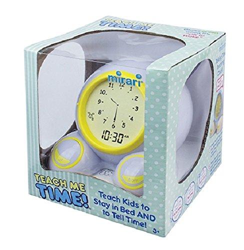 Wake Me Up Alarm Clock - Teach Me Time! Talking Alarm Clock & Night-Light