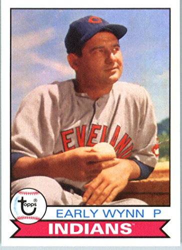 Cleveland Baseball Indians Display (2016 Topps Archives #115 Early Wynn Cleveland Indians Baseball Card in Protective Screwdown Display Case)