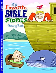 My Favorite Bible Stories Coloring And Book By Warner