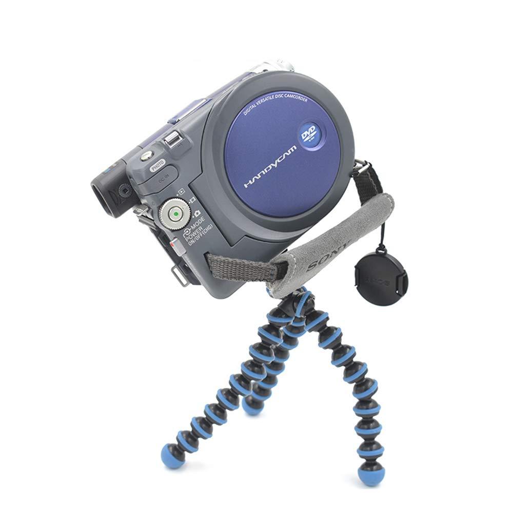 Azul c/ámara peque/ña del tel/éfono Celular Ogquaton Soporte de tr/ípode//Soporte para tr/ípode para c/ámara de tel/éfono tr/ípode Flexible Mini tr/ípode para Viaje