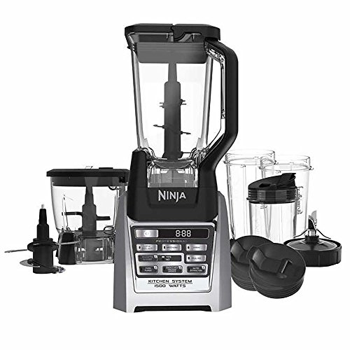 Ninja Auto-iQ Total Boost Kitchen Nutri Blender System with 1500 Watts professional base- BL687CO (Certified - Blender Ninja Professional