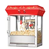 Great Northern Popcorn Red Foundation Antique Style Popcorn Popper Machine with 4-Ounce Kettle review