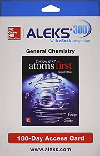 ALEKS 360 Access Card 1 Semester For Chemistry Atoms