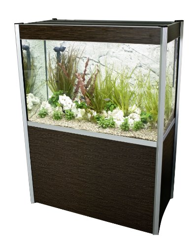 Fluval 72 Gallon Profile Complete Aquarium Kit Finish: Dark Bamboo
