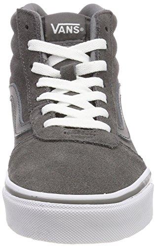 Hi Ward Pewter Donna suede Vans Suede Alto Grigio A Lg7 Collo Sneaker 5pAdvxAw