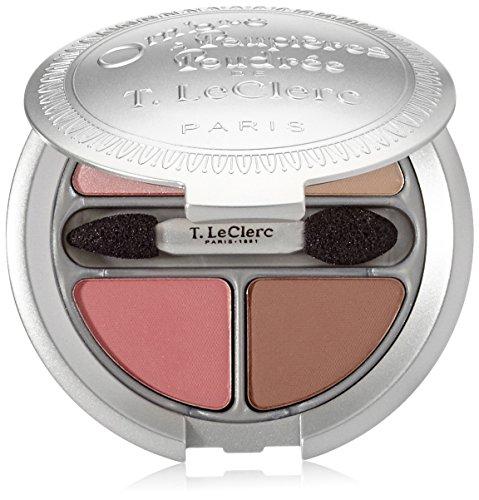 T. LeClerc Powder Eyeshadow Quarter (Limited Edition) - #01 Brume Rosee - 4g/0.14oz ()
