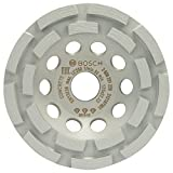 2608201228 BOSCH DIAMOND GRINDING HEAD BEST FOR CONCRETE 125 X 22.23 X 4.5 MM