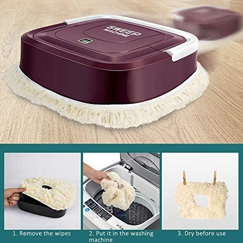 xupu Robot de nettoyage automatique pour robot de balayage intelligent de sol de la saleté de la poussière de cheveux nettoyeur automatique pour la maison électrique rechargeable