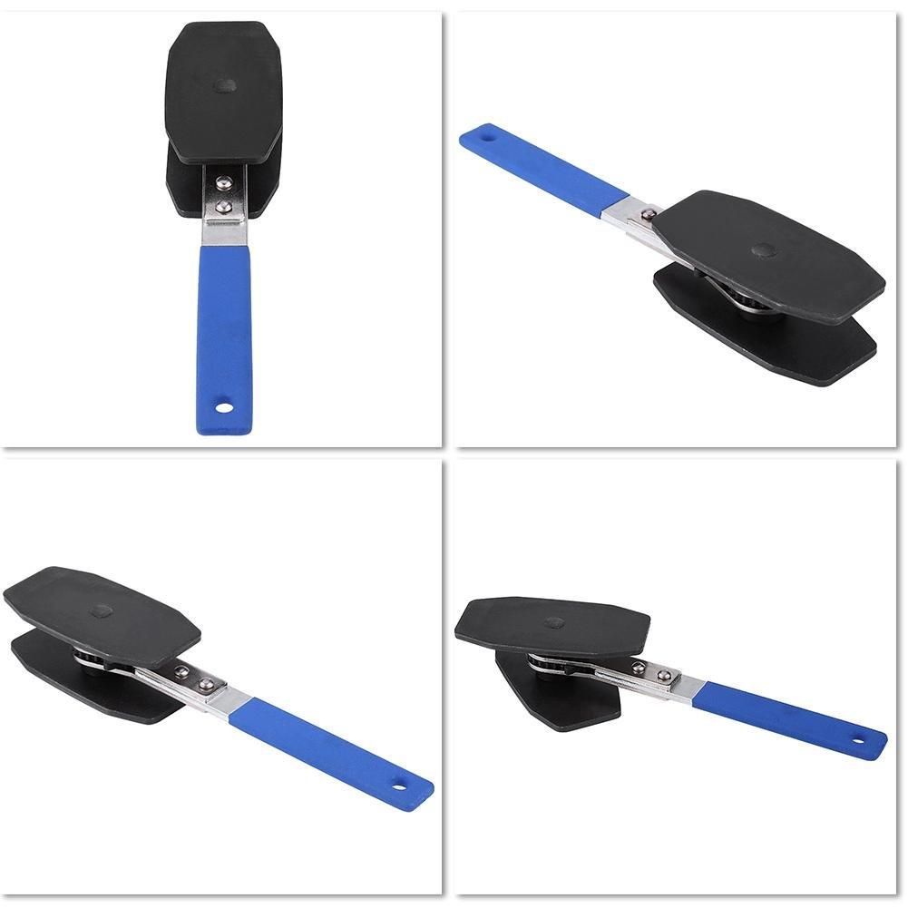 Zerone Brake Caliper Press,Car Brake Caliper Press Ratchet Caliper Piston Spreader Tool with Cushioned Grip Handle by Zerone (Image #4)