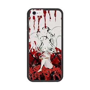 Deadman Wonderland D7S8FE4J Caso funda iPhone 6 del teléfono celular de 4.7 pulgadas Caso funda Negro