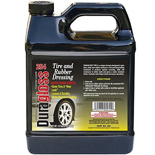 Duragloss 254 Automotive Tire and Mat Dressing - 0.5 Gallon
