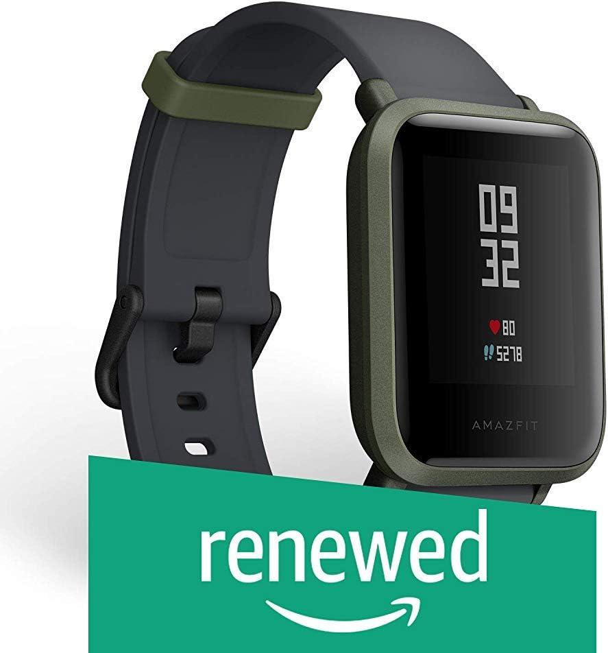 Huami Amazfit bip Bit ritmo Lite juventud Verison reloj inteligente Mi Fit IP68impermeable versión en inglés (Reacondicionado)