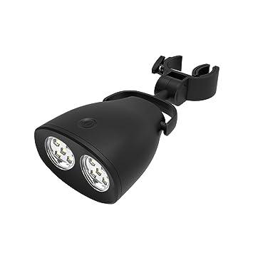 Barbacoa de LED luz, ecocampor 2 niveles de brillo con batería de luces para barbacoa