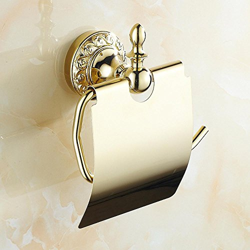 SSBY Golden Towel rack style bathroom and toilet boxes bathroom toilet paper holder paper holder