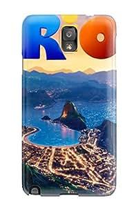HjKeQWK1059AYXhW Case Cover, Fashionable Galaxy Note 3 Case - Amazing Rio Movie