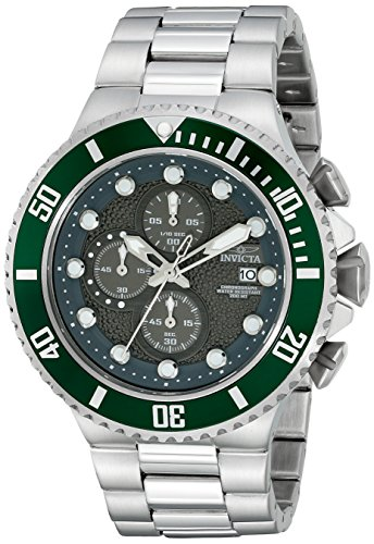 Invicta Men's 18908 Pro Diver Analog Display Quartz Silver Watch