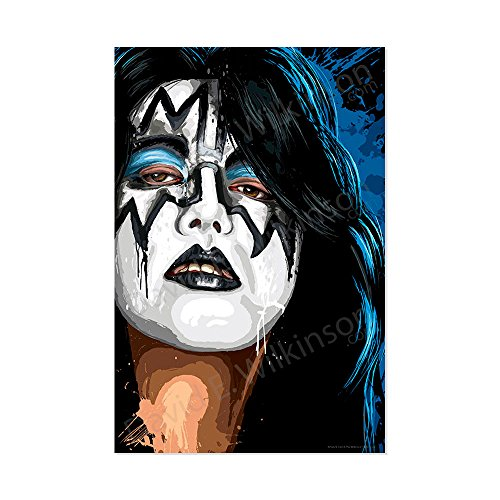 Kiss Ace Frehley Large Format art Giclee - Modern Design