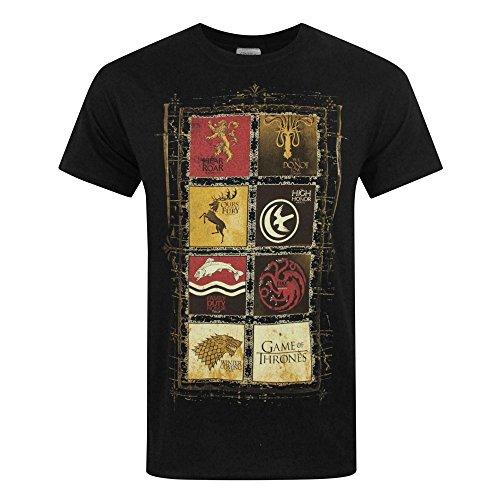 Game Of Thrones House Panels Men/'s T-Shirt