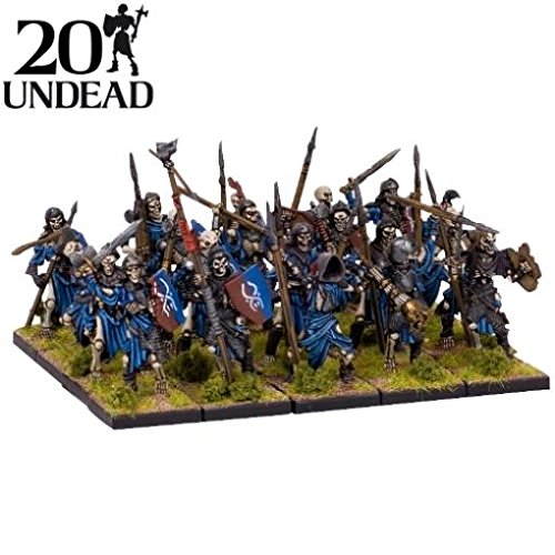 ( Kings of War: Undead: Skeleton Regiment)