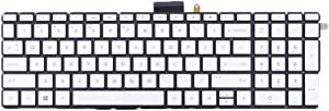 Gazechimp US Layout Keyboard with Backlight Replacement for HP Envy X360 15M/ 15-BP/ 15-BP015/ 15-BS/ 15-BW/ 250 G6