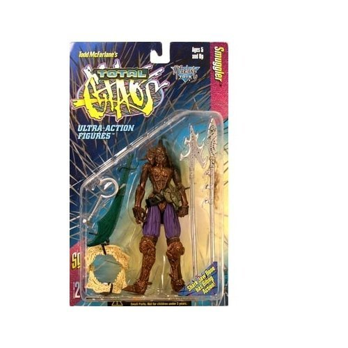 Mcfarlane Total Chaos - Spawn Total Chaos Series 2 Ultra-Action Figure - Smuggler