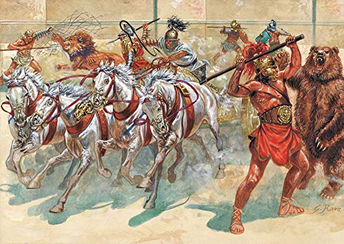 Italeri Roman Gladiators - 1/72 Plastic Model Kit
