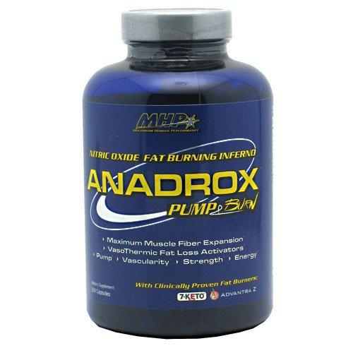 MHP Anadrox Pump & Burn 224 capsules