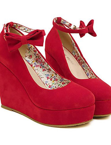 Rojo Ante Tacones cn39 mujer y Cu Noche uk5 eu39 us7 eu38 uk6 red 5 ZQ Negro Boda uk6 red as de Fiesta cn39 eu39 Tac¨®n Cu us8 Zapatos black cn38 5 us8 a 8EOwZ