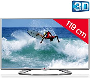 LG Televisor LED 3D 47LA6130 + Soporte Negro: Amazon.es ...