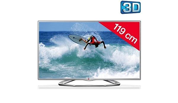 LG Televisor LED 3D 47LA6130 + Soporte Negro: Amazon.es: Electrónica