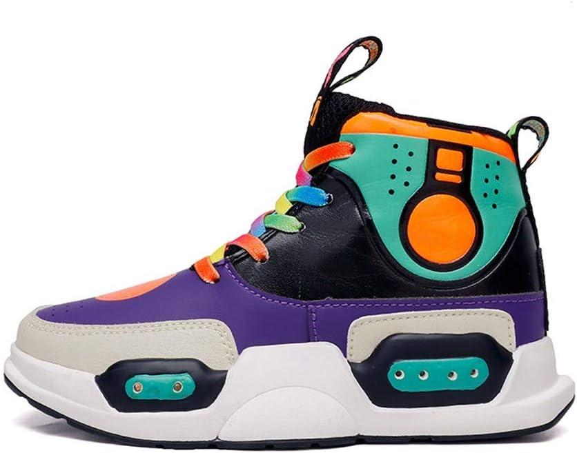 MOCA Zapatos Led Niñas Niños, Colorful Zapatos para Correr USB Carga, Bajo Peso Sneaker Glow, Flashing Antideslizante Zapatillas Regalo de Cumpleaños para Niños, Certificación CE: Amazon.es: Hogar