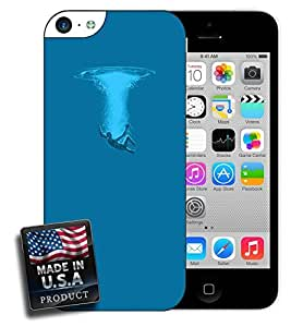 Open Water Swimming Diving Design iPhone 5c Hard Case by lolosakes