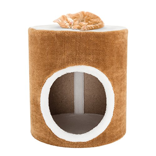 PETMAKER Cat Condo Barrel Single Hole, 14