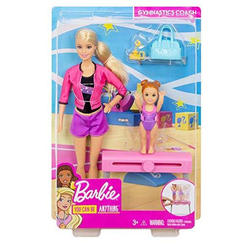 Barbie Gymnastics Coach Dolls Playset product image