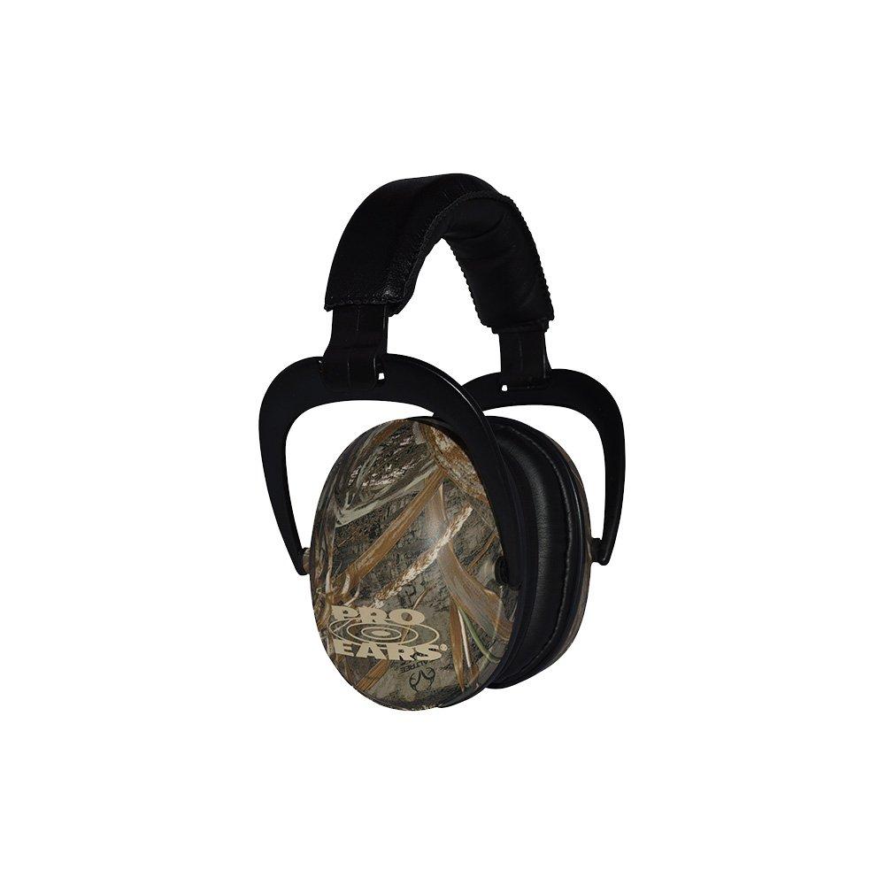 Pro Ears - Ultra Sleek -  Hearing Protection - NRR 26-Ear Muffs - Max 5 Camo by Pro Ears