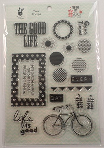 Fancy Pants Designs - The Good Life Collection - Clear Acrylic Stamps