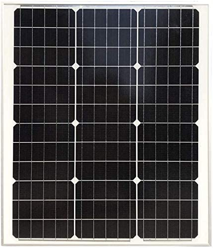 zhangchao Solar-Panel, New Einkristall Polykristalline Solar-Panel 100W Photovoltaik Solar-Panel 12V Batterie Haushalt,50w