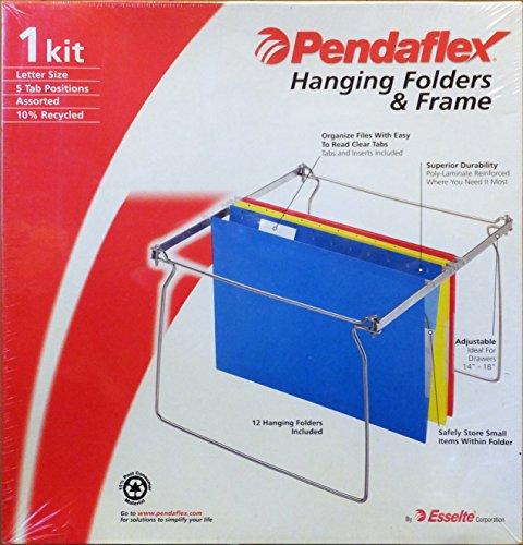 Pendaflex 12 Hanging Folders Frame Kit
