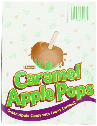 Caramel Apple Pops, 48-Count (Halloween Candy Pops)