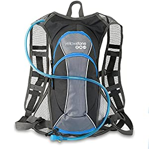51%2BoLzNU2rL. SS300  - Yellowstone   Unisex Outdoor Hydro Bag available in Blue/Charcoal - 1.5 Litres