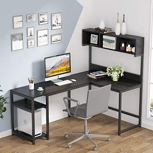 Tribesigns 68 Inch L Shaped Computer Desk