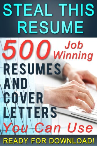 Steal This Resume by [Petterson, Mark]
